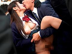 唾液ダラダラ接吻痴漢4 密着して舐めまくる痴女子○生