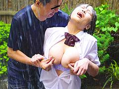 突然のゲリラ豪雨!どしゃ降り野外痴漢BEST 大雨の中で乳首をいじられ続けS字反りイキするずぶ濡れ巨乳女+新作撮り下ろし