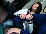 痴漢師に手マンされイキ潮を吹かされた女子○生 【DUGA】