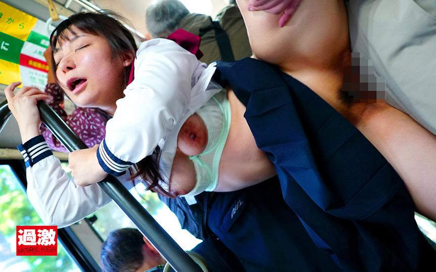 IdolLAB | naturalhigh-2078 満員バスで制服越しに乳揉み痴漢される巨乳女子○生12