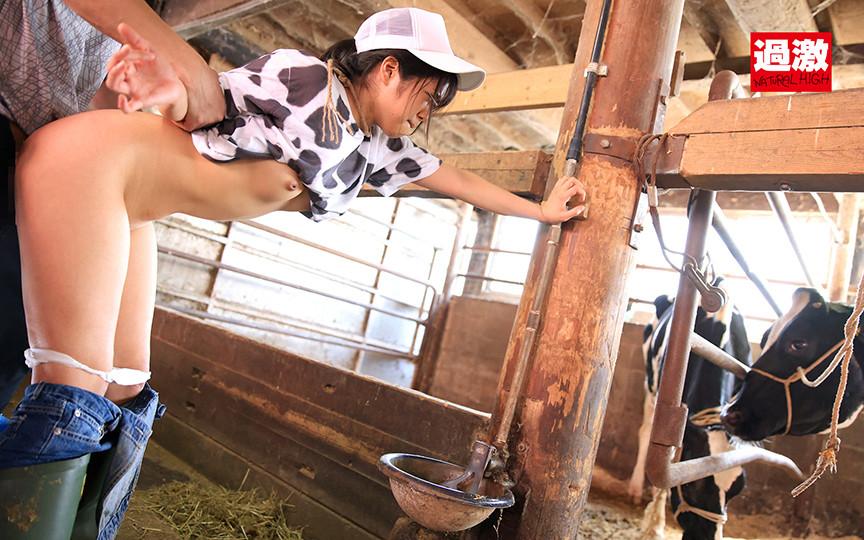 IdolLAB | naturalhigh-2183 接客中に顔を紅潮させながら感じまくる娘 牧場の飼育員