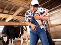 接客中に顔を紅潮させながら感じまくるバイト娘 牧場の桃尻飼育員 アイコン
