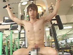 全裸スポーツジム ~筋肉と勃起~ 0分~10分