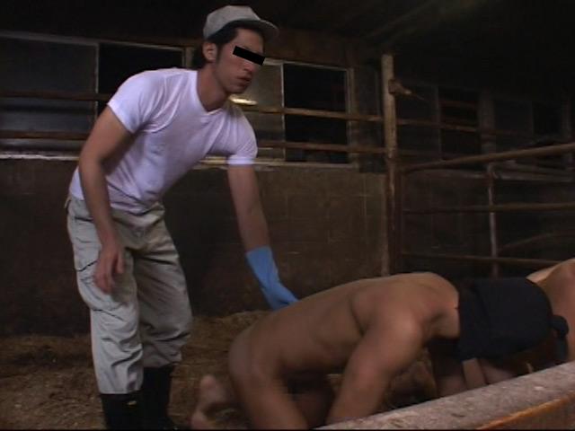 ゲイミルク牧場「ゲイミルクを食べる~人間牛を飼育する1」 の画像12