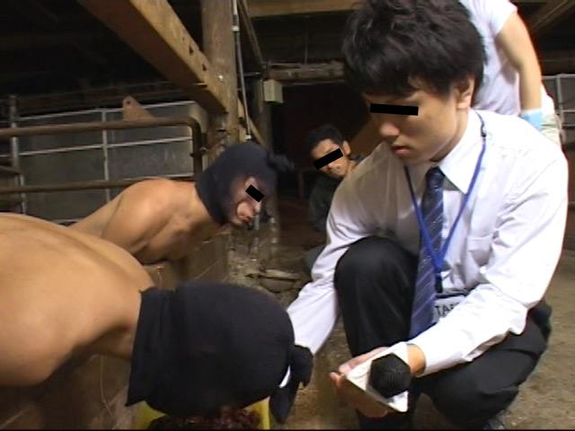 ゲイミルク牧場「ゲイミルクを食べる~人間牛を飼育する1」 の画像2