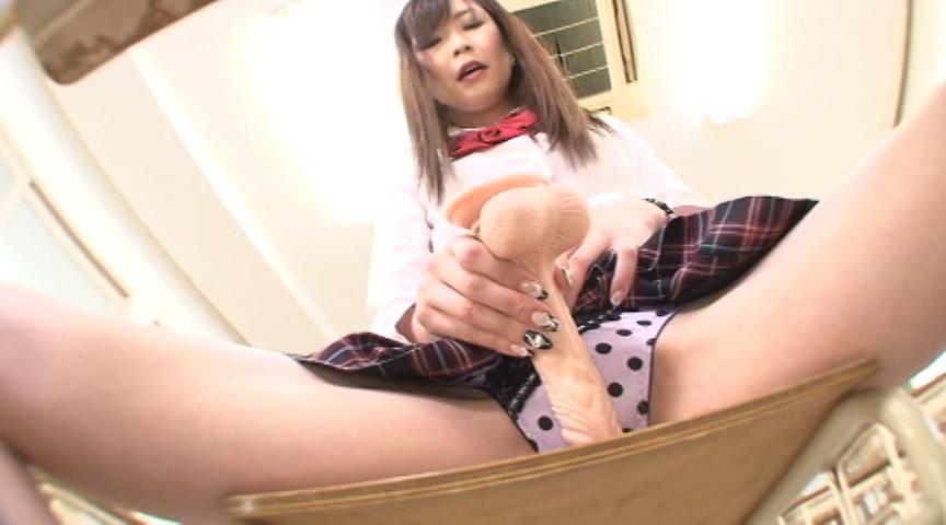 女子校生の巨尻ディルドオナニー Vol.3