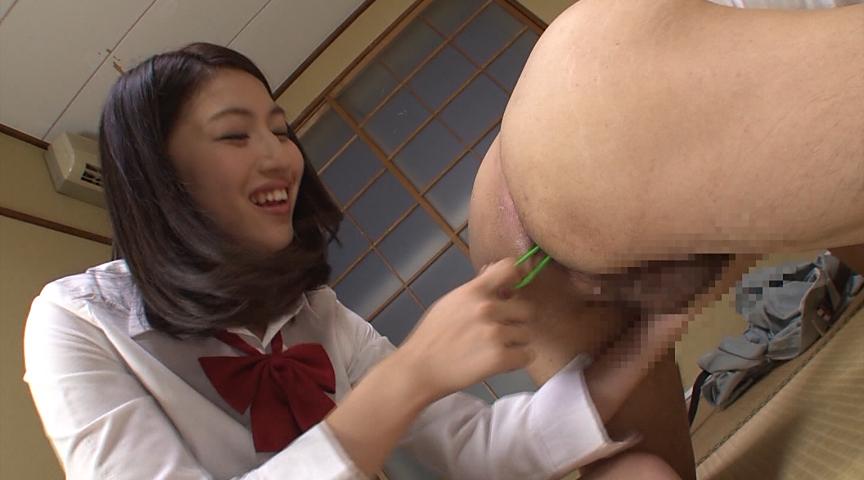 アナル責め手コキ 女子校生編