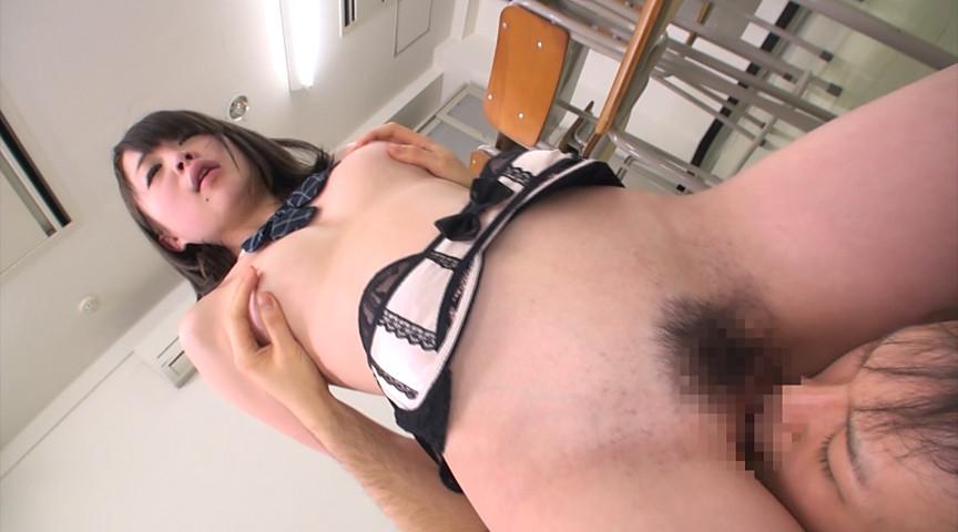 女子校生の恥ずかし顔面騎乗