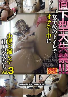 直下型大失禁!!! 女子校のトイレでオナニー中に小便を漏らす10人の女たち Vol.3