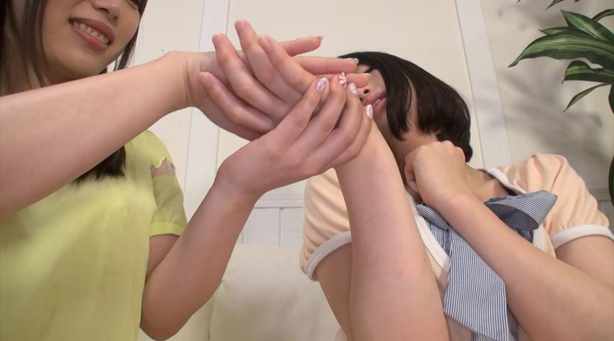 催眠術で触ってないのにイカされちゃった素人娘たち!?のサンプル画像