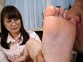 女の臭い足舐め-0