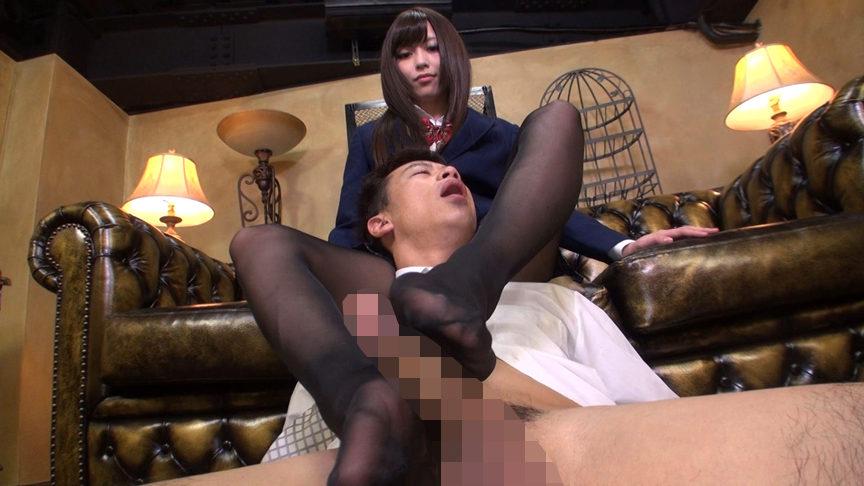 パンティストッキングマニア 女子○生の黒ストッキング 画像 9