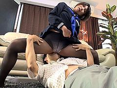 パンスト:パンティストッキングマニア 女子○生の黒ストッキング