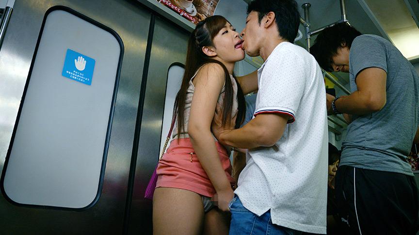 満員電車で接吻挑発、発情素股されちゃって… ベスト 画像 1