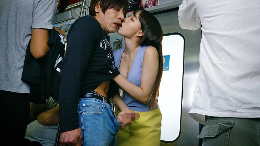 満員電車で接吻挑発、発情素股されちゃって… ベスト 画像 5