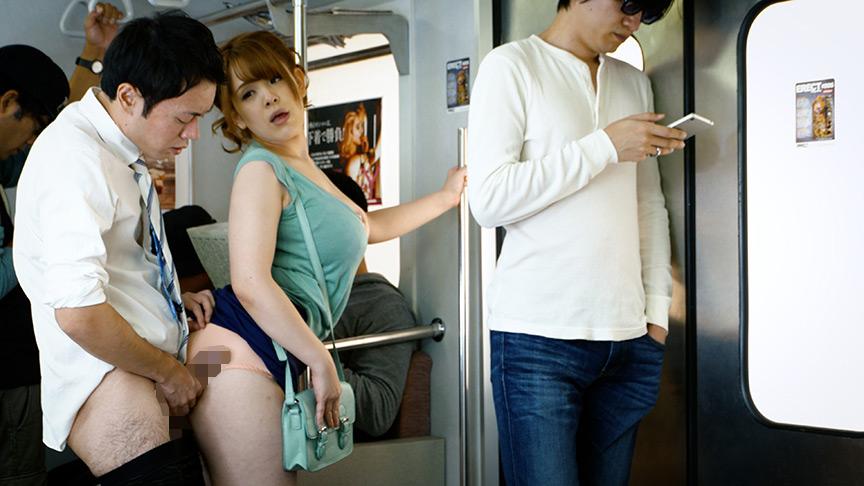 満員電車で接吻挑発、発情素股されちゃって… ベスト 画像 9