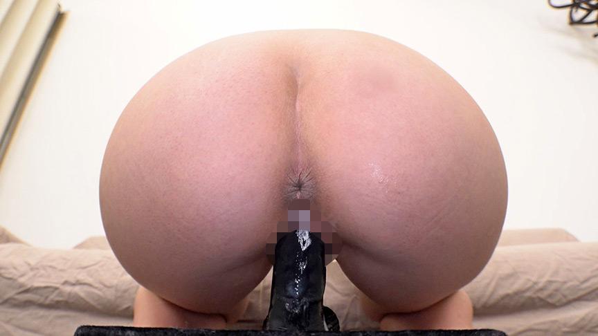 素人娘が初めての黒ディルドオナニー(3) 画像 4