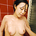 お母さんの入浴