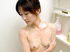 お母さんの入浴5