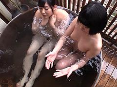 小泉まり 川美優香「湯けむり女ふたり旅」