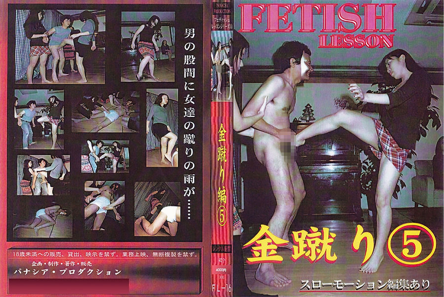 FETISH LESSON 金蹴り編5