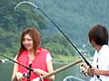 大漁!ルアー釣りギャルナンパ