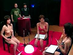 美少女アイドルがおま●こを賭けて対決!7