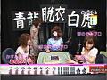 総勢15人の脱衣マージャンお宝ハプニング映像-1