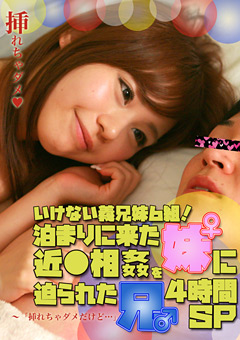 【美沙子動画】泊まりに来た妹に近●相姦を迫られた兄4時間SP-ドラマ