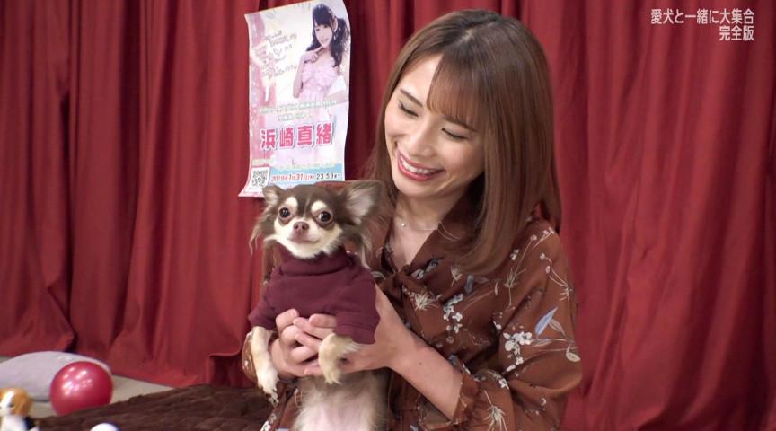 人気AV女優が愛犬と大集合!完全版のサンプル画像