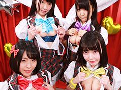 アイドルのア・ソ・コ♪ザ・ベストテン完全版~マシュマロ3d+が歌ってオナってヤラレちゃう!