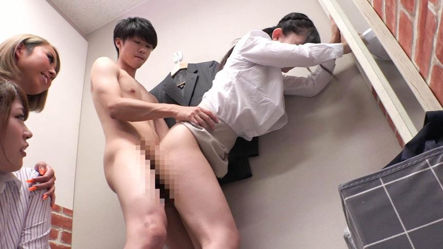 スーツ専門店の美人店員さんと試着室でヤリたいサムネイル09