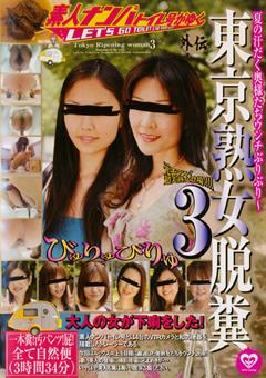 素人ナンパトイレ号がゆく外伝 東京熟女脱糞3