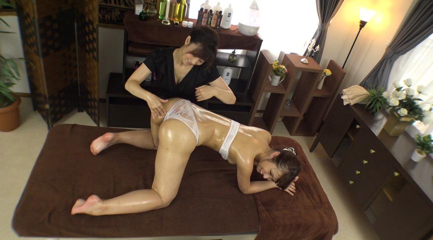 絶頂2穴オイル高級エステサロン 人妻アナル濃密肛交レズ 画像 4