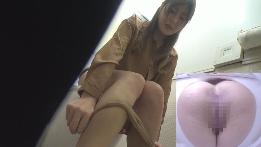 ショッピングモール女子トイレ放〇オナニー盗撮のサンプル画像