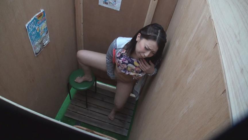 湘南海岸仮設シャワー室・更衣室 オナニー盗撮 画像 5