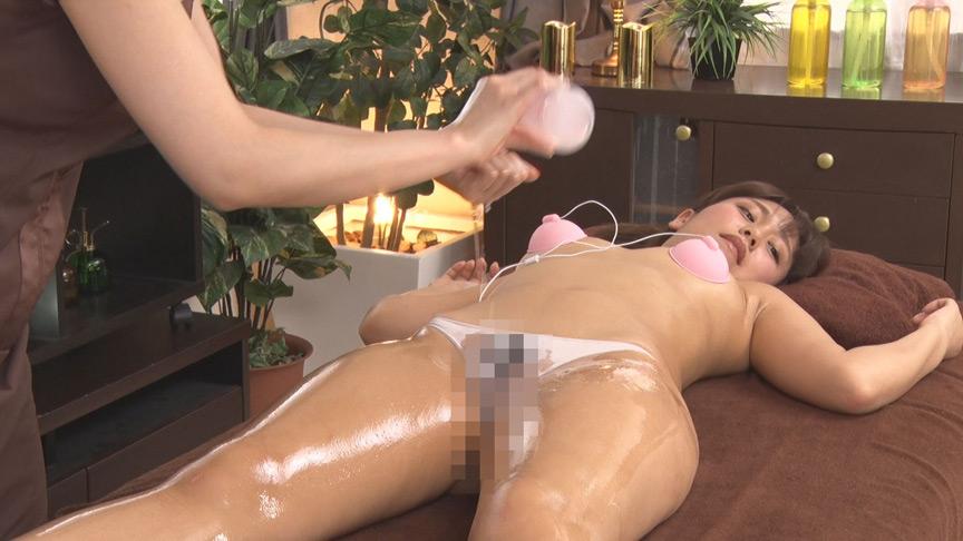 乳首責めっ放し人妻レズエステ 新性感開発オイルサロン 画像 15