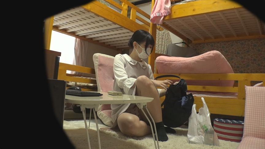 性活を覗く 看護師女子寮オナニー盗撮 画像 4