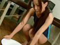 スク水美少女の極太黄金水-1