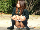 美麗な女子校生の夕焼け排尿 【DUGA】