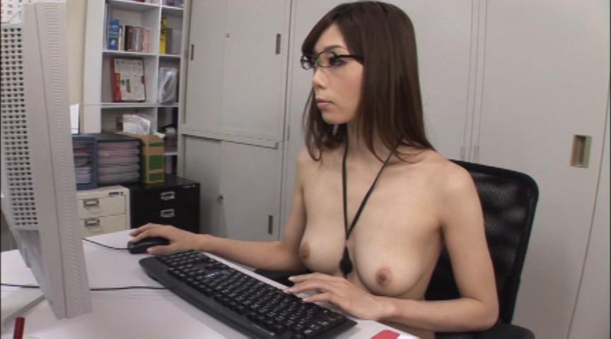 裸のOL 庶務課 榊なち 画像 4