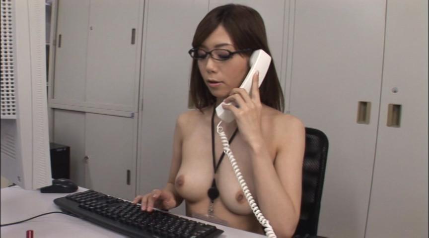 裸のOL 庶務課 榊なち 画像 5