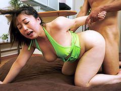 爆乳ムチムチ妻の下品なマラ喰い肉欲生活 篠崎かんな
