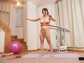 魅惑のボディで全力運動!全裸エクササイズ64人8時間-3