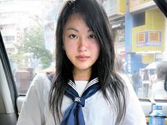 素人セーラー服生中出し016 ひなた:女子校生