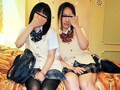 しろうと関西円光(中田氏) ゆみ&いづみ:女子校生
