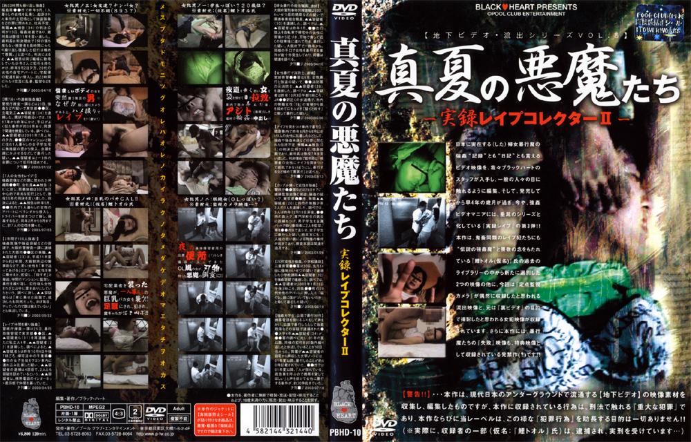 真夏の悪魔たち 実録レイプコレクター2 パッケージ画像