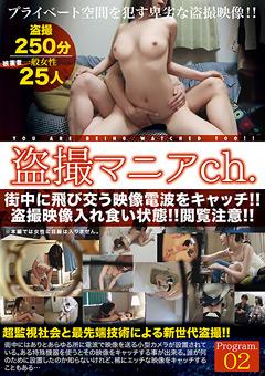 【盗撮動画】盗撮マニアch.-Program.02のダウンロードページへ