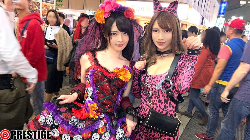 ナンパTV×PRESTIGE PREMIUM 20 大漁!!穫れたて激エロ美女10名を踊り喰い!! 1枚目