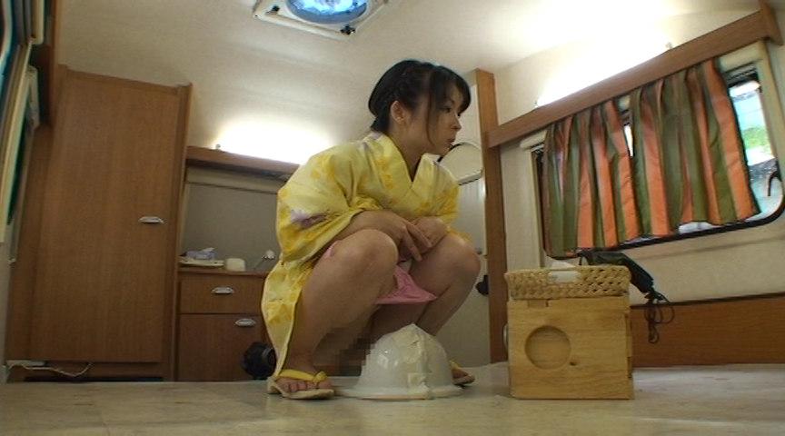素人ナンパトイレ号がゆく 外伝 プレミア浴衣うんち 画像 6